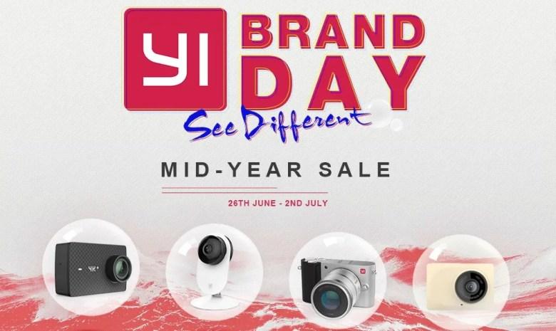 Xiaoyi Brand Mid-year Sale