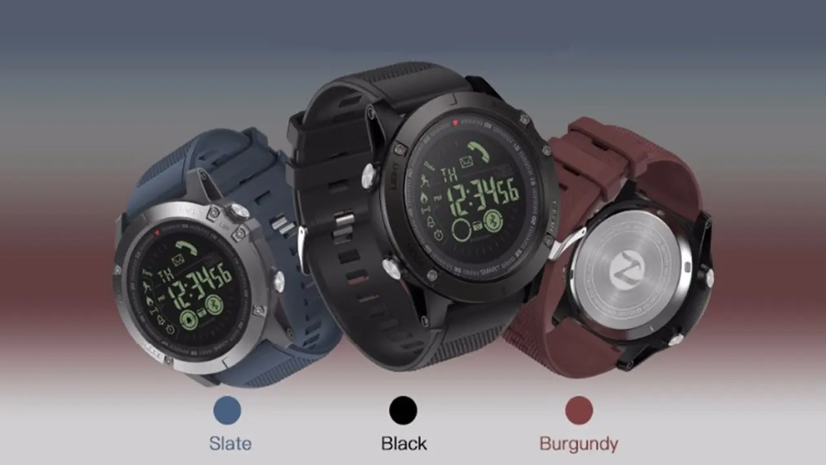Zeblaze VIBE 3: το rugged smartwatch με αυτονομία 33 μηνών (!) στα 16€!!