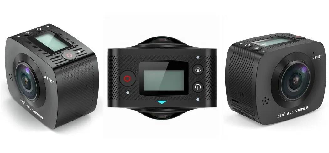 Elecam 360 WiFi Action Camera