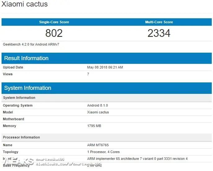Xiaomi Cactus