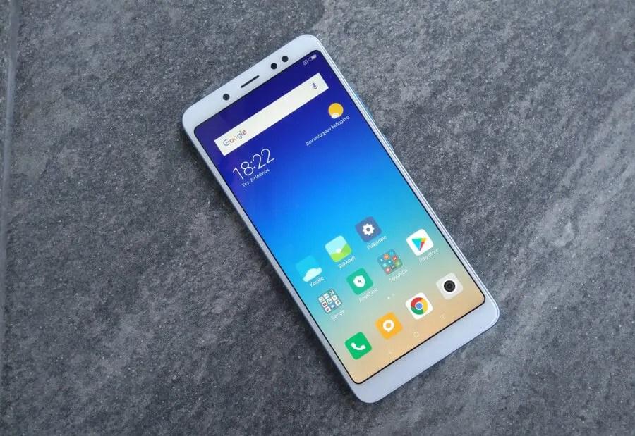 Redmi Note 5: «δικό σας» το best seller με 4GB+64GB στα 159€ - χωρίς τελωνείο!