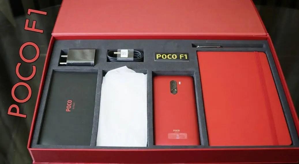 POCO F1: κυκλοφόρησε η νέα πανέμορφη Rosso Red Edition