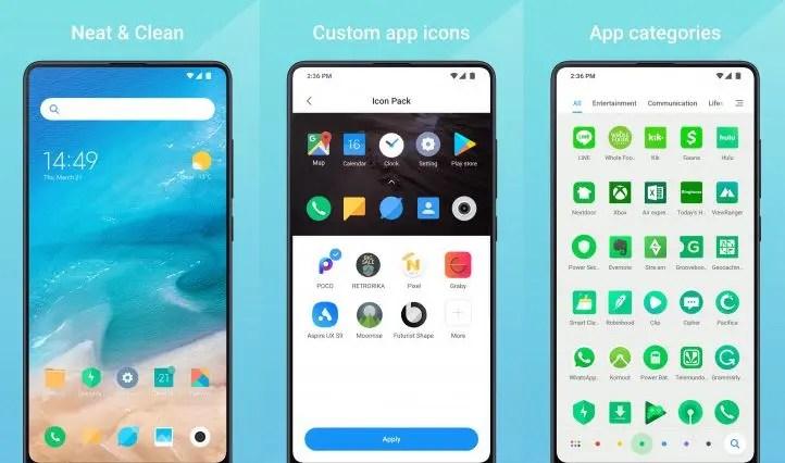 Xiaomi Mint Launcher: ανέβηκε στο Play Store