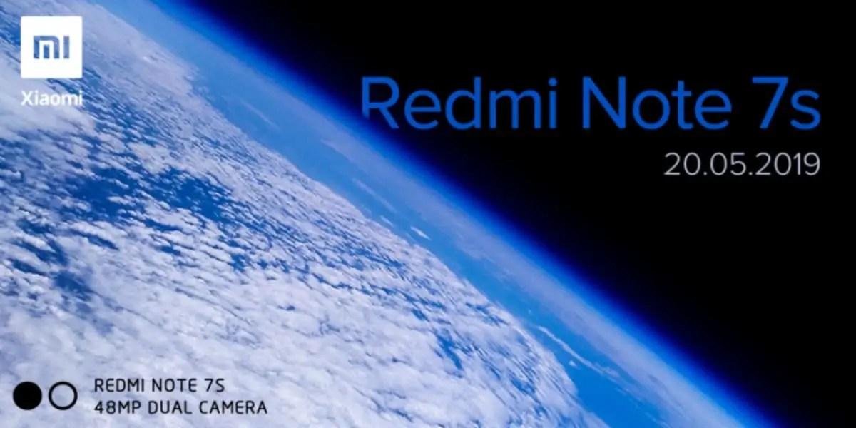 Redmi Note 7s: έρχεται με κάμερα 48MP, στις 20 Μαϊου