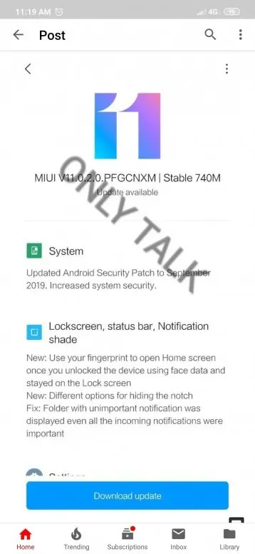 e95e4420 a006 4d91 9904 6350d0d8064b - Redmi 7, Redmi Note 7/7 Pro: the update has come to MIUI 11 stable
