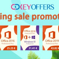 CDKeyoffers: Spring Sales με Windows 10 και Office keys από 13.99€!