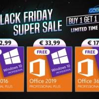 Black Friday Super Sale: «αρπάξτε» αυθεντικά Windows 10 keys δωρεάν!