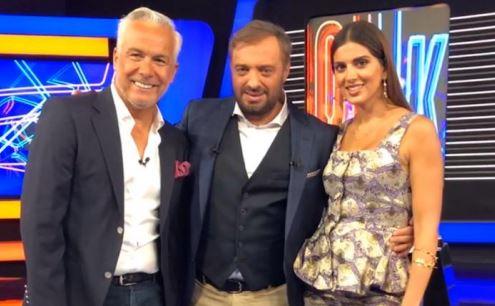 Σταματίνα Τσιμτσιλή και Χρήστος Φερεντίνος στο ίδιο τηλεοπτικό πλατό