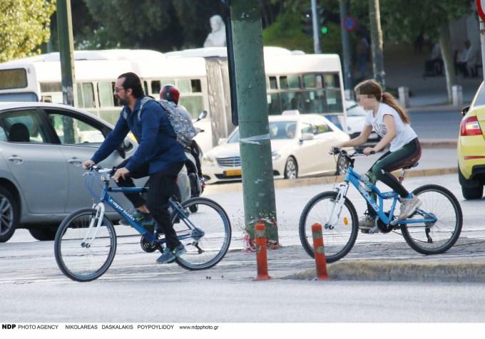 Tάσος Νούσιας: Για ποδήλατο με την μονάκριβη κόρη του