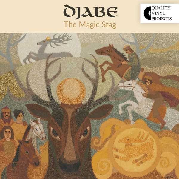 Djabe – The Magic Stag (2LP+DVD) cover