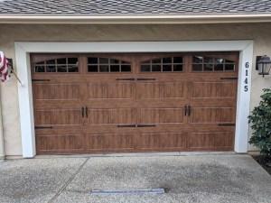 clopay gallery garage door installation