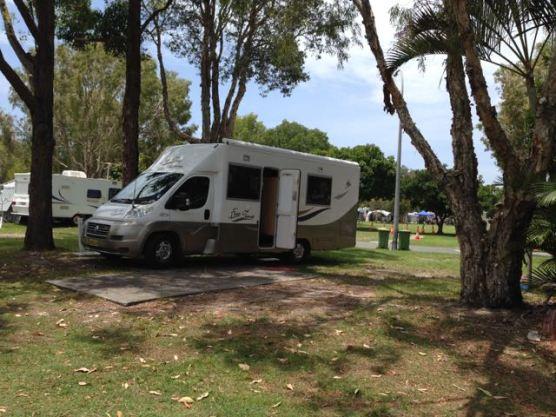 Site at Kirra Caravan Park