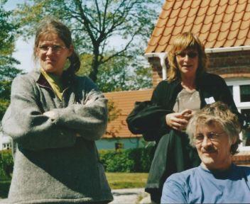 Anne, Karin, Peter KPs