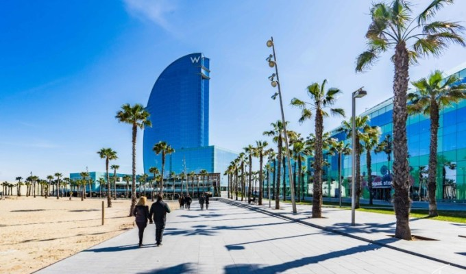 Hotel Review: W Barcelona
