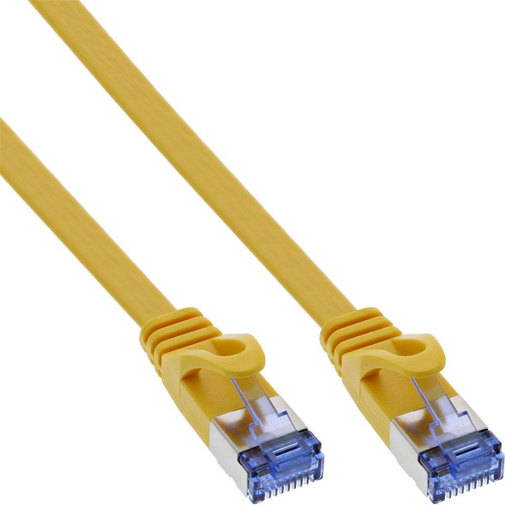 Netzwerkkabel-gelb