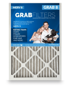 16x25x1 air filters