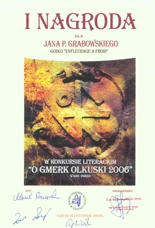 2006_24-listopada_Dyplom_O-Gmerk-Olkuski,Olkusz_zm