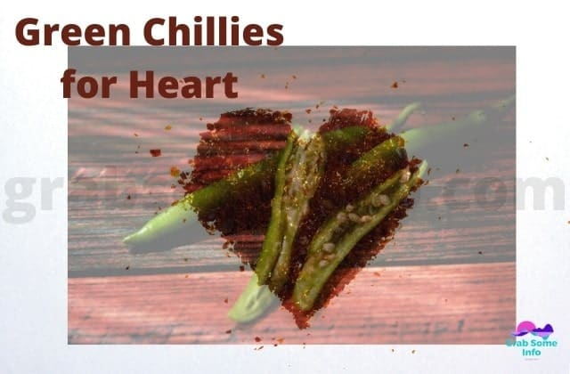 Heart made with Chillies