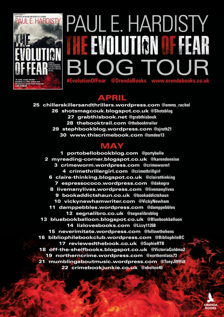 Evolution of Fear Blog tour