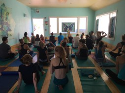Yoga Lila - a very full class!