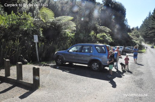 Carpark to Bridal Veil Falls