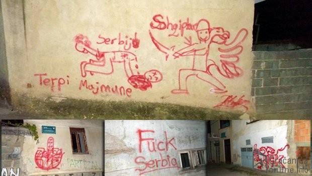 Неколико графита у Приштини