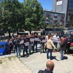 Protest srpskih novinara u Prištini