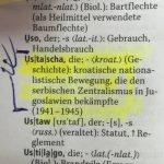 """""""28. jun"""": U nemačkom rečniku reč ustaša dobila adekvatan prevod"""