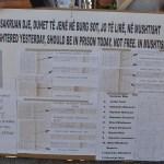 Пароле и поруке Србима да су непожељни у селу Мушутиште