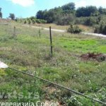 Velika Hoča: Srušen jarbol sa srpskom zastavom