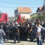 Срби из Мушутишта спречени да обиђу село и порушену цркву
