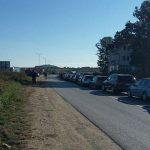 Гужва и колоне возила на админисративном прелазу Мердаре