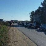 Gužva i kolone vozila na adminisrativnom prelazu Merdare