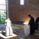 И чишћење храма Христа Спаса нелегално за општину Приштина