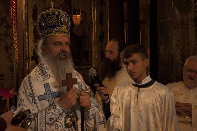 Episkop Teodosije: Ne mogu da verujem da neko u Gračanici nije dozvolio da se obavi litija