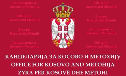 Канцеларија за КиМ позива Албанце да поштују своје српске комшије