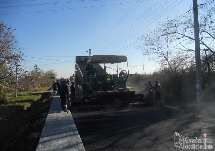 Суви До – Ново Насеље, нови асфалтни пут