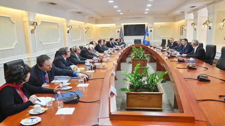 Slobodan Petrović bio u delegaciji Skupštine Kosova na sastanku sa američkim kongresmenima
