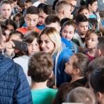 Милица Дабовић у Грачаници: Верујте да се чуда дешавају