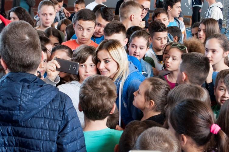 Milica Dabović u Gračanici: Verujte da se čuda dešavaju