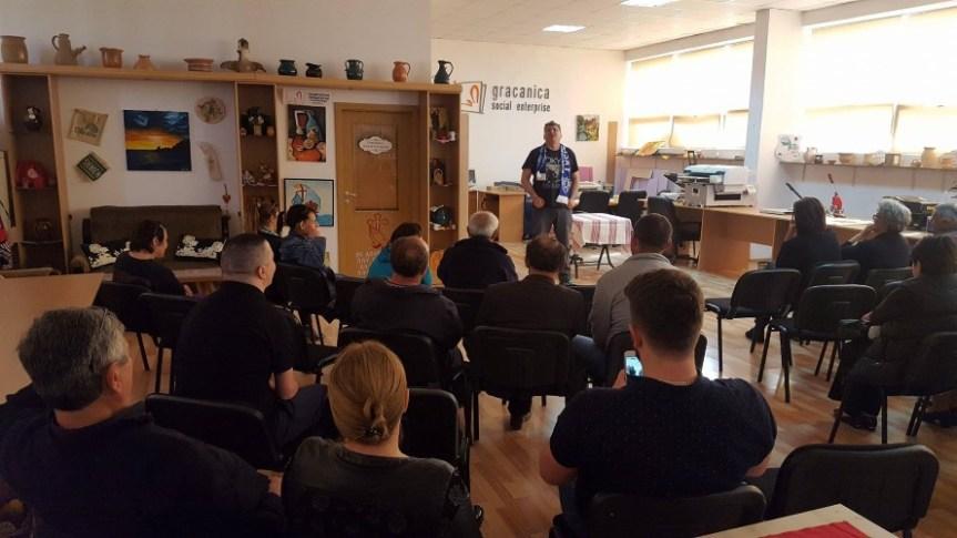 Представа Саше Пантића за особе са инвалидитетом у Грачаници