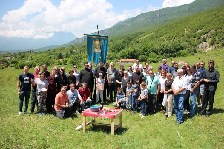 Obeležen Duhovski utorak u selu Ljubožda kod Istoka