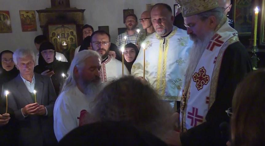 Два нова монаха у светој монашкој обитељи у манастиру Драганац уочи храмовне славе