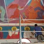 Почело осликавање цркве у Ливађу