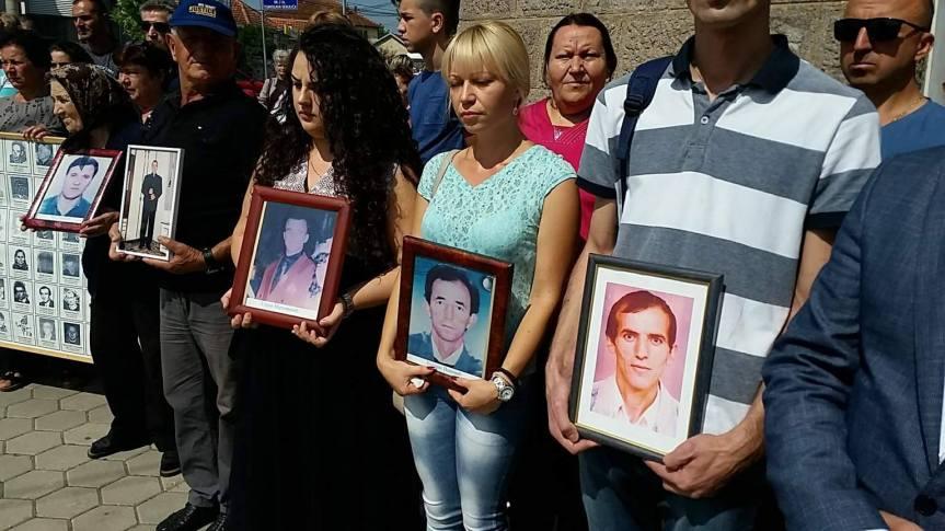 Породице киднапованих и несталих:  И даље верујемо у правду и правичност!