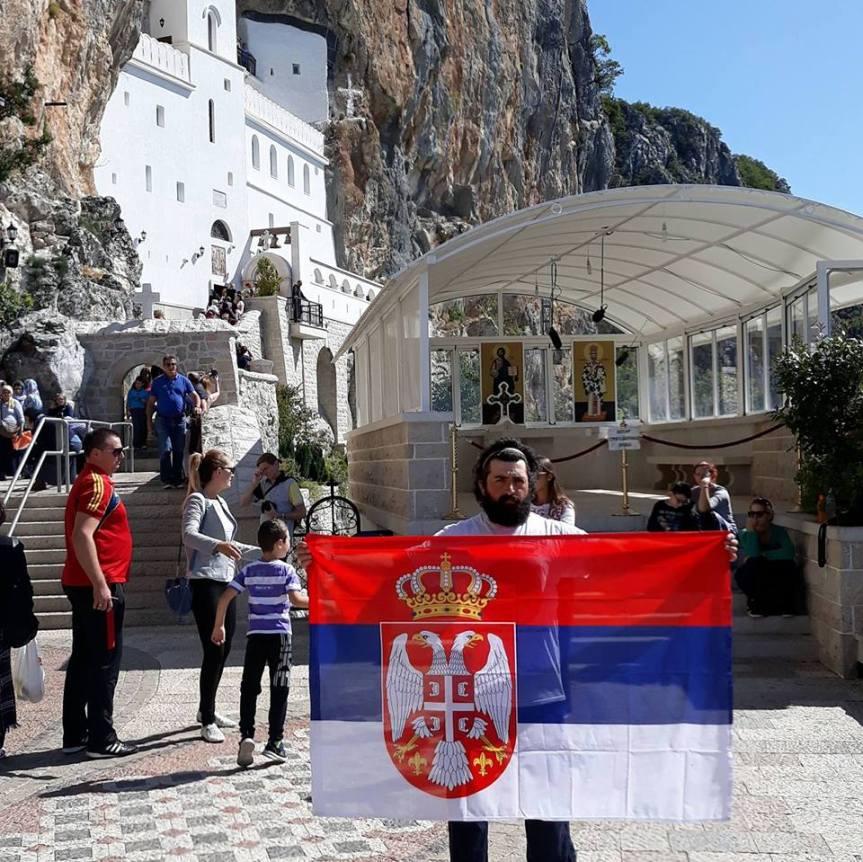 Uz jaku volju i Božju pomoć Dragan iz Gračanice pešačio do Ostroga i nazad