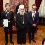 Српски патријарх одликовао Рицудиса и Гујона