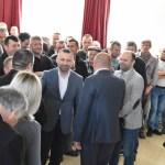 Посета Далибора Јевтића општини Клокот, подршка мештанима како би опстали на Косову