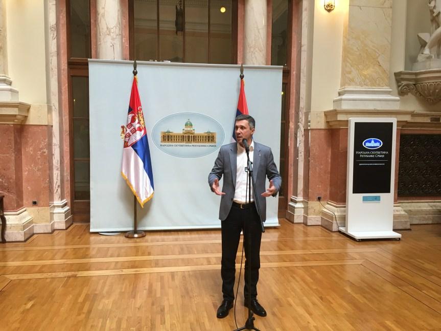 Обрадовић: Двери нису опозиција Србији и држави, Двери су опозиција Влади