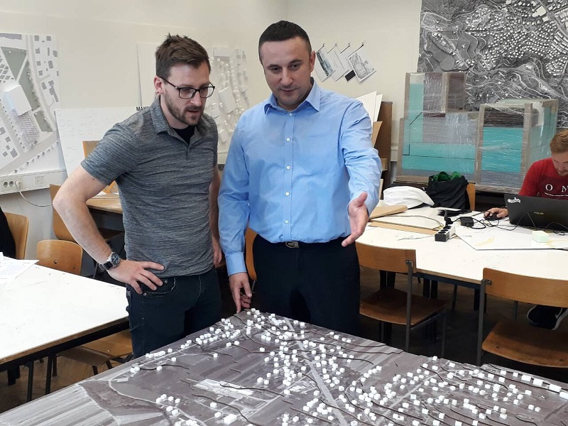 Градоначелник Грачанице посетио Архитектонски факултет у Љубљани